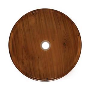 MR Direct Wood Grain Glass Vessel Bathroom Sink,628