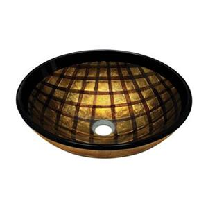 MR Direct Foil Undertone Glass Vessel Sink,635