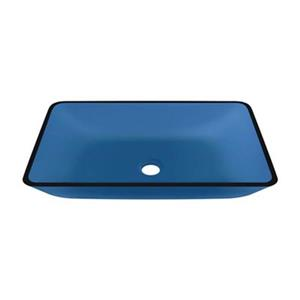 MR Direct Glass Vessel Bathroom Sink,640-Aqua
