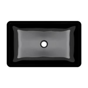 MR Direct Glass Vessel Bathroom Sink,640-Black
