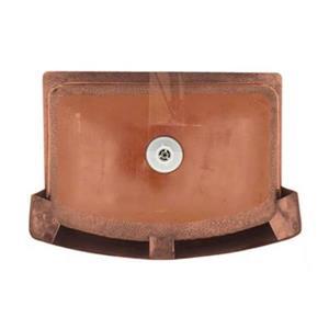MR Direct Single Bowl Copper Apron Sink,914