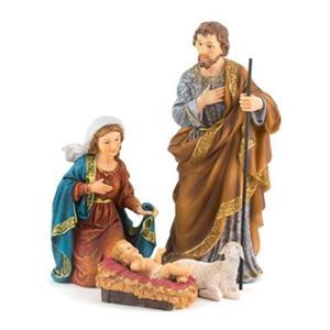 Hi-Line Gift 81855 18-in 4-Piece Nativity Set,81855