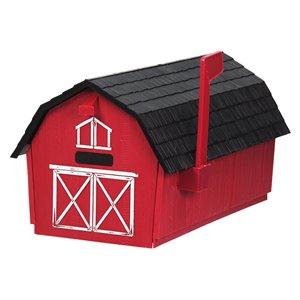 PRO-DF Rural Barn Curbside Mailbox,P9223G | Lowe's Canada