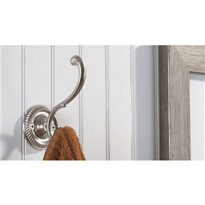 Richelieu Wall Hook - 92-mm - Matte Black