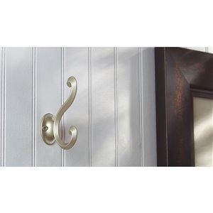 Richelieu Wall Hook - 55-mm - Matte Nickel