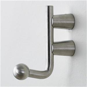 Richelieu Contemporary Stainless Steel Hook,560003170