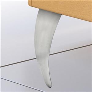 Richelieu Aluminum Furniture Leg,5600110