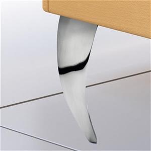 Richelieu Aluminum Furniture Leg,5600120