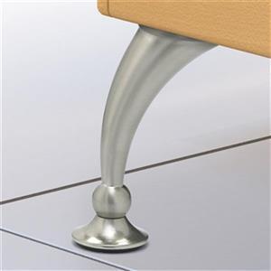Richelieu Contemporary Furniture Leg,BP40730195