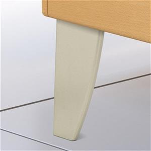Richelieu Decorative ABS Furniture Leg,BP526195