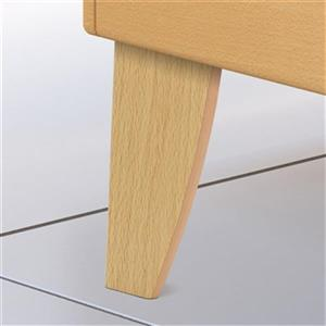 Richelieu Decorative ABS Furniture Leg,BP52684