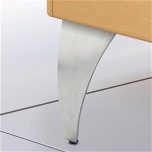 Richelieu Aluminum Furniture Leg,BP5600124