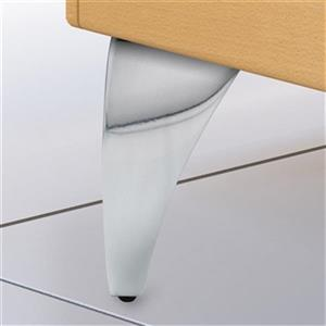 Richelieu Aluminum Furniture Leg,BP5600125