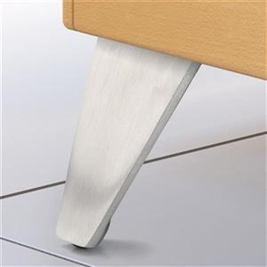 Richelieu Aluminum Furniture Leg,BP5600280