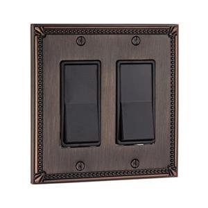 Richelieu Traditional Decora Switchplate,BP8611BORB