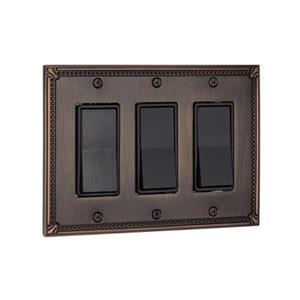 Richelieu Traditional Decora Switchplate,BP86111BORB