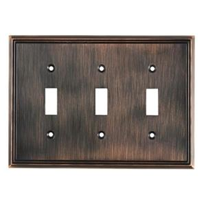 Richelieu Contemporary Toggle Switchplate,BP85333BORB