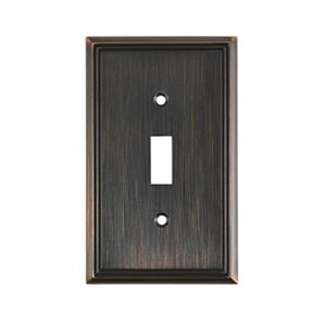 Richelieu Contemporary Toggle Switchplate,BP853BORB