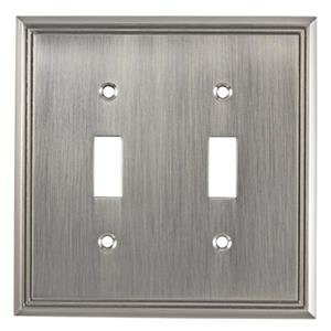 Richelieu Contemporary Toggle Switchplate,BP8533195
