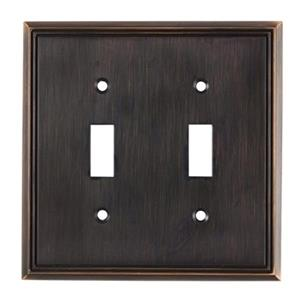 Richelieu Contemporary Toggle Switchplate,BP8533BORB