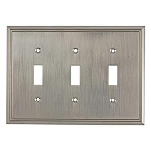 Richelieu Contemporary Toggle Switchplate,BP85333195