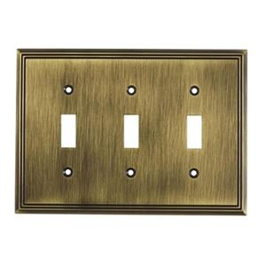 Contemporary Toggle Switchplate