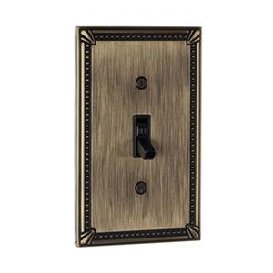Richelieu Traditional Toggle Switchplate,BP863AE