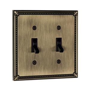 Richelieu Traditional Toggle Switchplate,BP8633AE