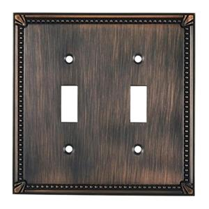Richelieu Traditional Toggle Switchplate,BP8633BORB