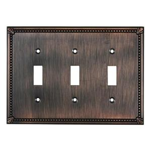 Richelieu Traditional Toggle Switchplate,BP86333BORB