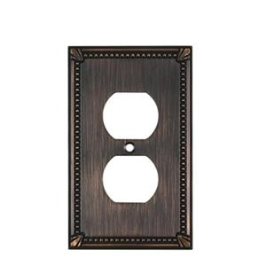 Richelieu Traditional Duplex Switchplate,BP862BORB