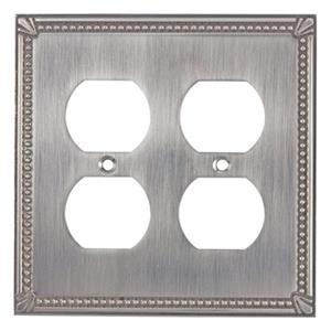 Richelieu Traditional Duplex Switchplate,BP8622195