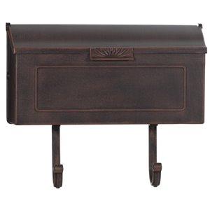 PRO-DF Classic Antique Copper Aluminum Mailbox,AL363CA