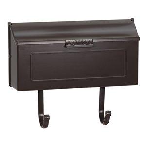 PRO-DF Classic Mocha Aluminum Mailbox,AL365MO