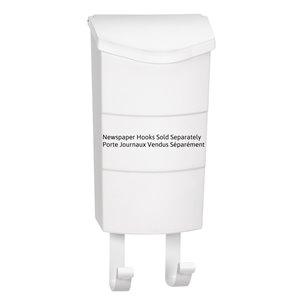 PRO-DF Modern White Vertical Locking Mailbox,P77000