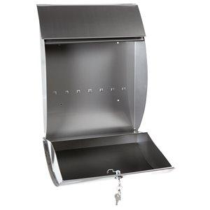PRO-DF Contemporary Locking Mailbox,MS26908