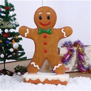 Hi-Line Gift Gingerbread Boy Statue,85180-A