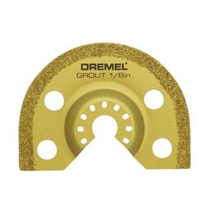 Dremel Multi-Max Carbide Grout Removal Oscillating Tool Blade
