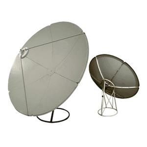 Digiwave Prime Focus Satellite Dish - 1.65 meter