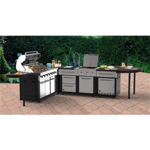 5-Piece Modular Outdoor Kitchen Set | Lowe's Canada on Patio Kitchen Set id=19446