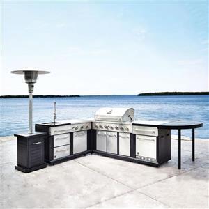 5-Piece Modular Outdoor Kitchen Set | Lowe's Canada on Patio Kitchen Set id=79559