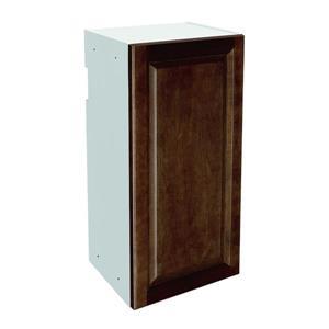 15-in x 30-in Balsamic Barrel Upper Cabinet with Door