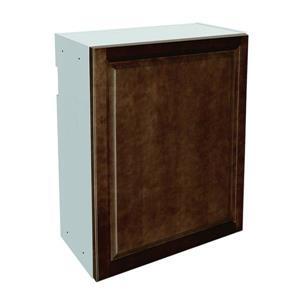 24-in x 30-in Balsamic Barrel Upper Cabinet with Door