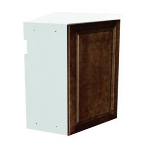 24-in x 30-in Balsamic Barrel Upper Corner Cabinet with Door