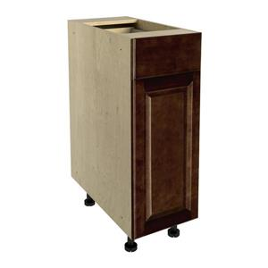 12-in x 30-in Balsamic Barrel Base Cabinet with Door