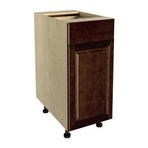 15-in x 30-in Balsamic Barrel Base Cabinet with Door