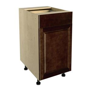18-in x 30-in Balsamic Barrel Base Cabinet with Door