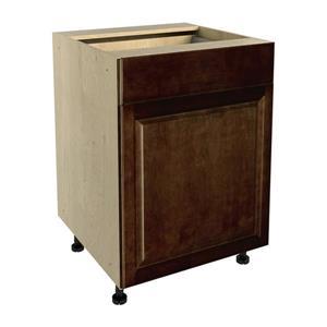 24-in x 30-in Balsamic Barrel Base Cabinet with Door