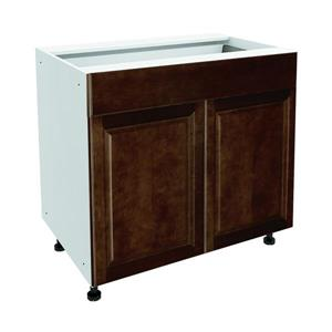 36-in x 30-in Balsamic Barrel Base Cabinet with Doors