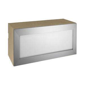 15-in x 30-in Frosted Glass Lift Up Cabinet with Door